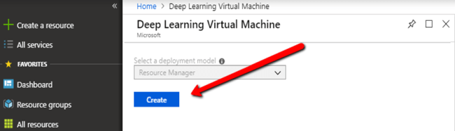 A Deep Learning Machine On Azure From The App Marketplace
