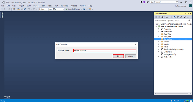 ActionName Selectors In ASP.NET MVC