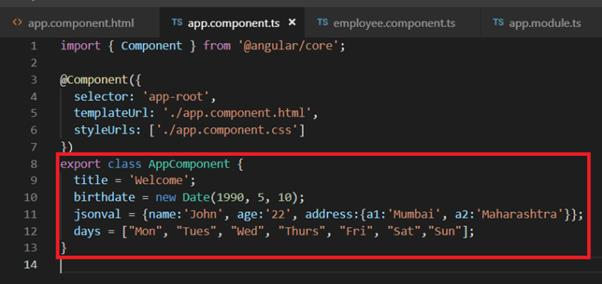 Using Pipes In Angular