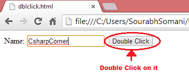 Before double-click