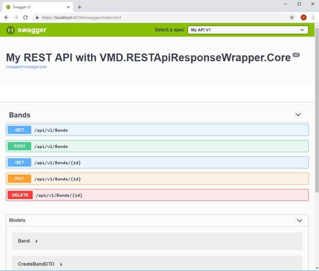 ASP.NET Core 2.1 - Integrating VMD.RESTApiResponseWrapper.Core To Your REST API Application