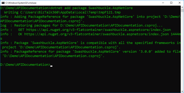 ASP.NET Core API Documentation Using Swashbuckle.AspNetCore And .NET CLI