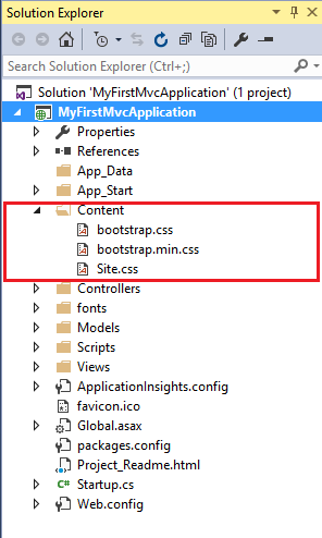 ASP.NET MVC Folder And File Structure