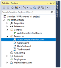 AutoComplete TextBox In WPF