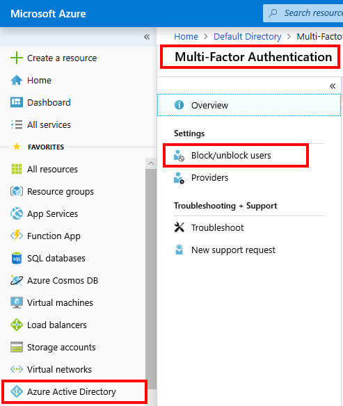Azure Multi Factor Authentication For Users