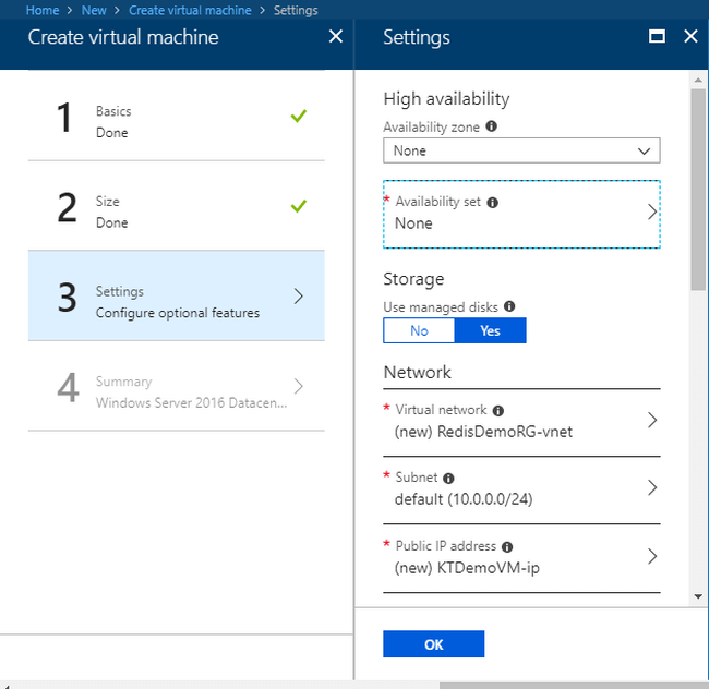 Azure Redis Cache with a Step by Step Demo