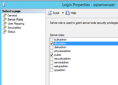 how to create a virtual sql server database