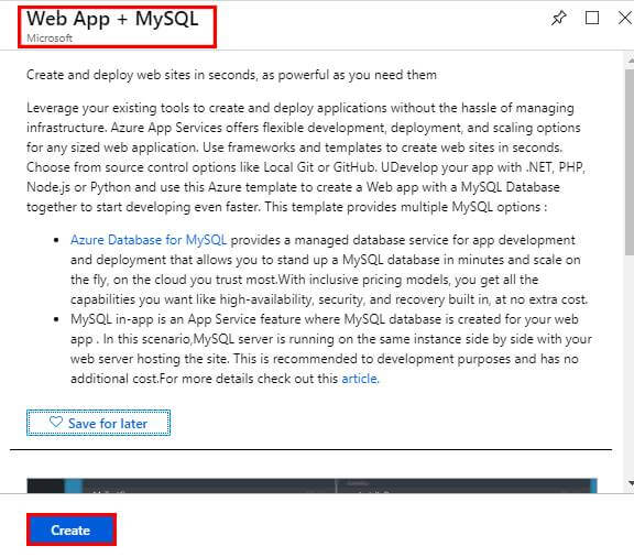 Basic Introduction About Creating Web App Service To Azure Database For MySQL