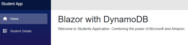 Blazor - Connect with Amazon DynamoDB Using AWS SDK