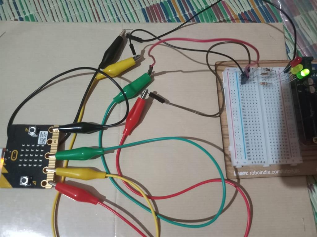 Traffic Light System Using Bbc Microbit Anishs Blog Circuit Pictures Fro