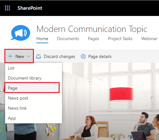 Build Custom App Pages with SharePoint Framework