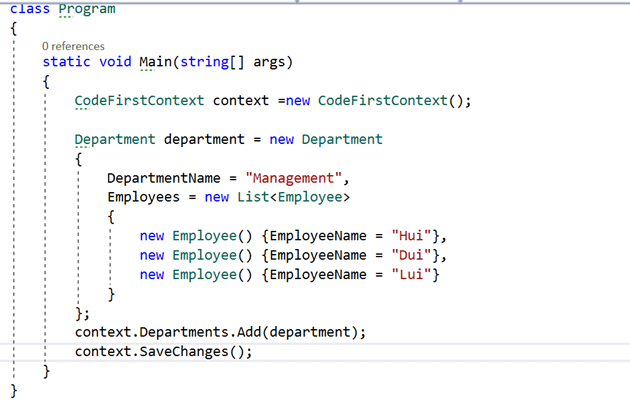 Code First Approach And Migrations In Microsoft .NET Entity Framework