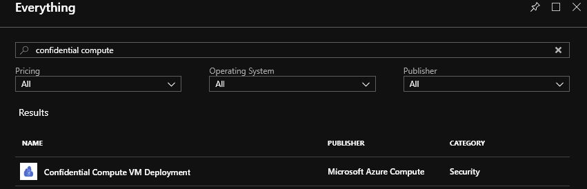 Confidential Computing For Azure Virtual Machines
