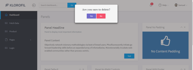 Confirm Dialog In Angular Using Bootstrap Modal
