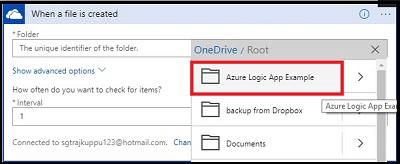 Connect OneDrive to Google Drive with Azure Logic Apps
