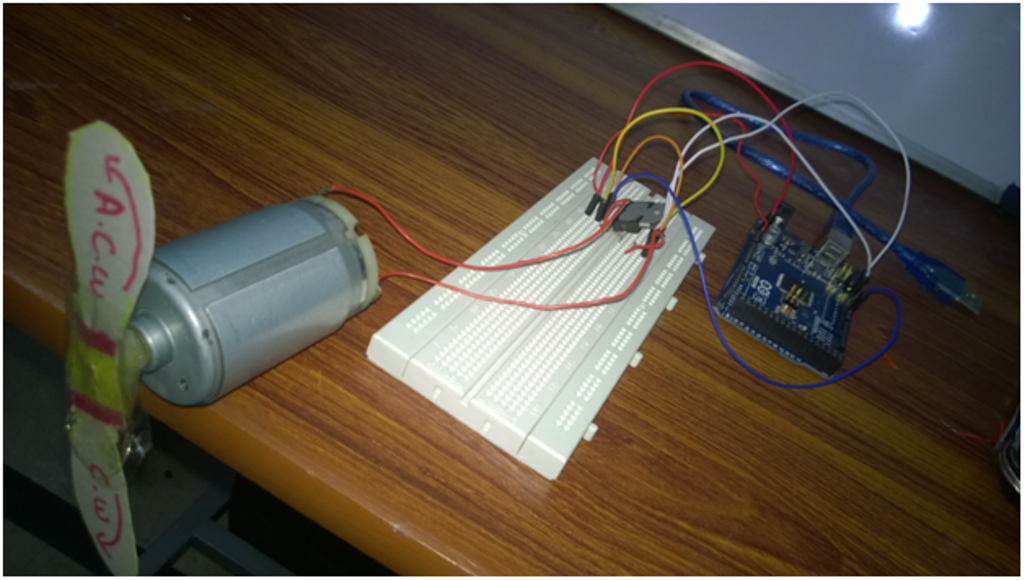 Connecting Simple Dc Motor In Arduino Mega 2560