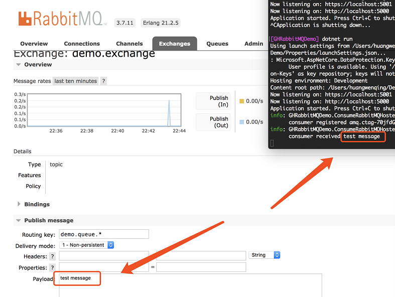Consuming RabbitMQ Messages In ASP.NET Core