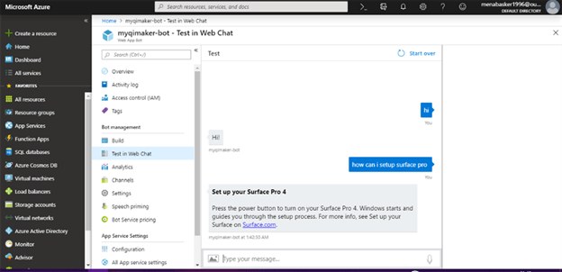 Create A Conversational Bot Using Azure QnA Maker Cognitive Service