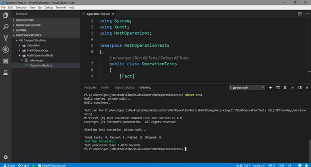 Create A .NET Core Development Environment Using Visual Studio Code