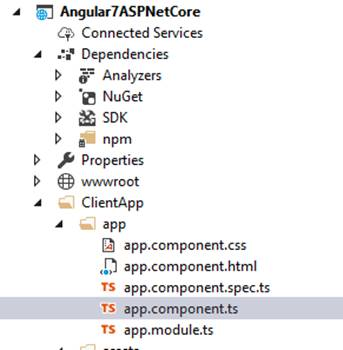 Getting Started With Angular 7 And ASP.NET Core 2.1