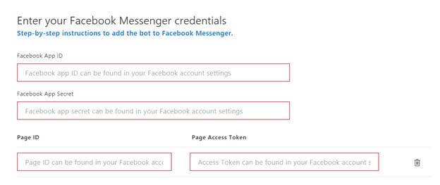 Create And Build A Facebook Bot Using Microsoft Bot Framework