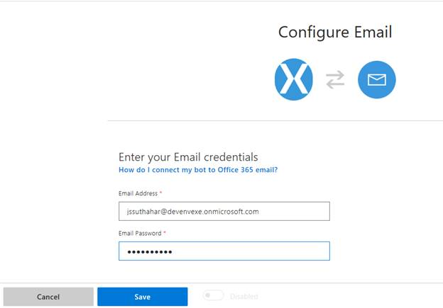 Create and Build an Email Bot Using Microsoft Bot Framework