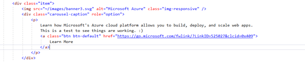 Create and Deploy Your First .Net Core App in Azure App Service