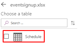 Create Blank PowerApps With Excel As Data Source