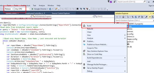 Create Or Update The Excel From Azure Web Job