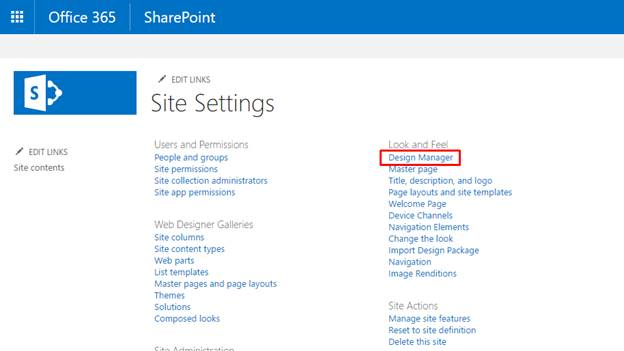 Create Page Layout Using Design Manager In SharePoint Online - Sharepoint design manager
