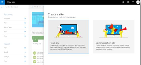 Create SharePoint Modern Team Site Using Site Scripts And Site Designs