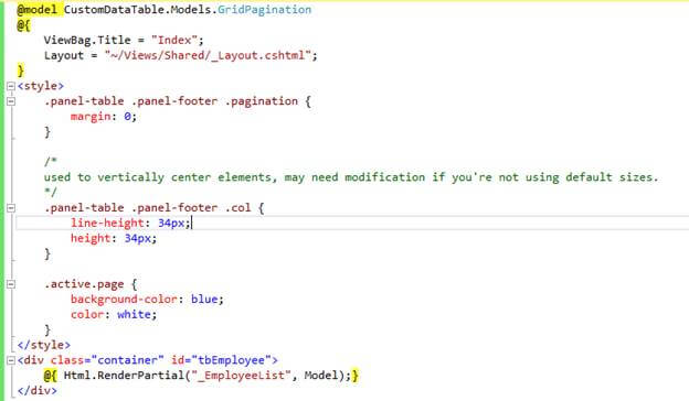 Ajax pagination in pagedlist mvc using partial page