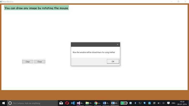 Drawing Lines In Wpf C : Creating a drawing pad in wpf