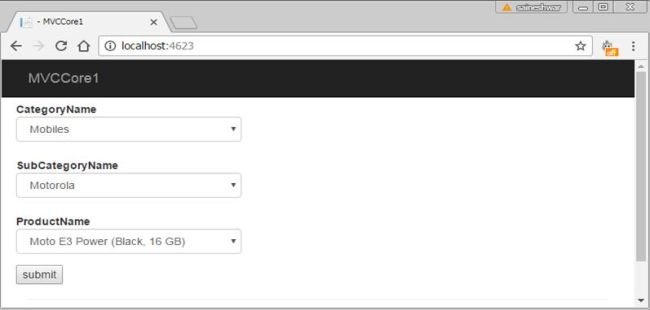 Asp. Net mvc dropdownlist selected index changed example youtube.