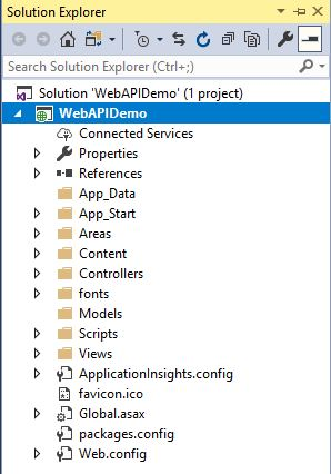 Creating Web API Project On Visual Studio 2017