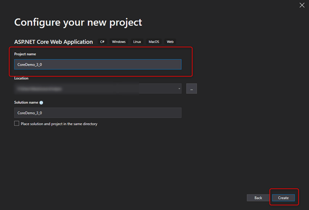 CRUD Operations In .NET Core 3.0 With Visual Studio 2019