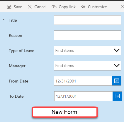 Customize New Form, Edit Form and Display Form in Modern SharePoint Page Using PowerApps
