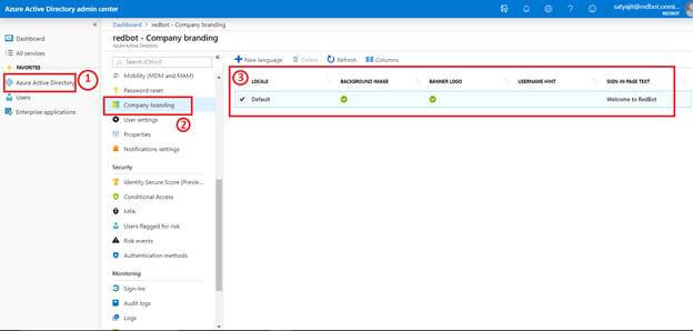 Customize The Login Page Of Office 365