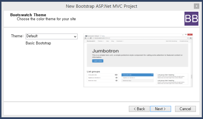 Customizing ASP.NET MVC Bootstrap Templates