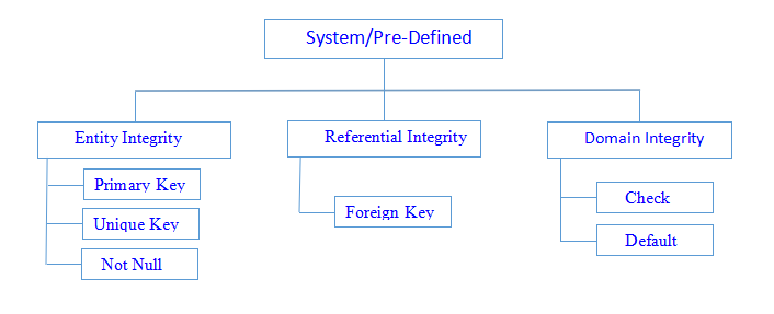System/Pre Defined Integrity