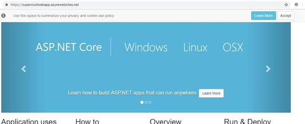 Deploy .NET Core Application To Linux Containers On Azure Web App