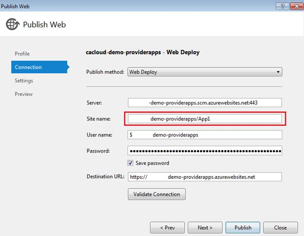 Deploying Multiple Provider Hosted Apps In A Single Azure Web Site