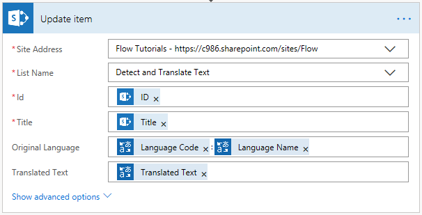 Detect Language And Translate Text Using Microsoft Translator And Microsoft Flow