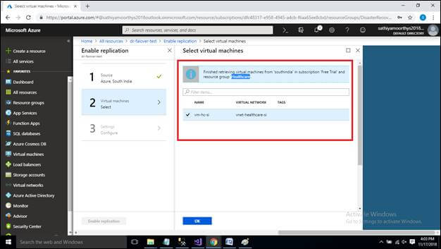 Disaster Recovery For Azure Applications - Failover, Test Failover