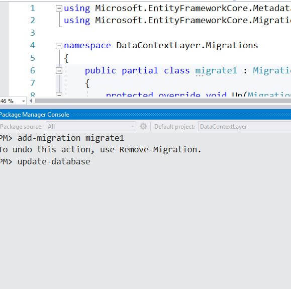 ASP.NET Core 2.1 - Implement Entity Framework Core In A Code First Approach