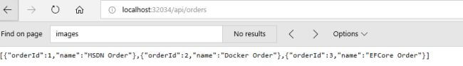 Entity Framework Core in Docker Container
