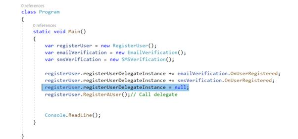 Events And Delegates In C#