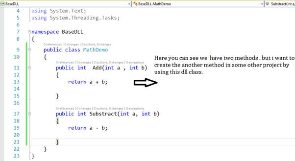 how to create extension class in c