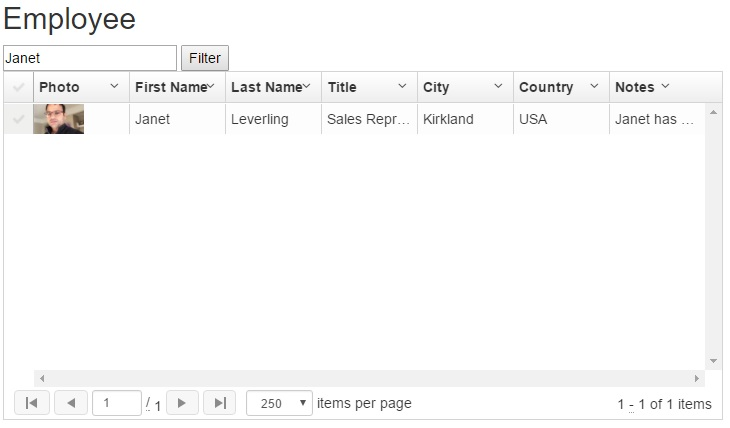 Filtering In UI-Grid With AngularJS And WebAPI
