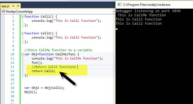 javascript first class functions